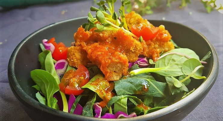 "Buffalo ""Chicken"" Salad 버팔로 ""치킨"" 샐러드"