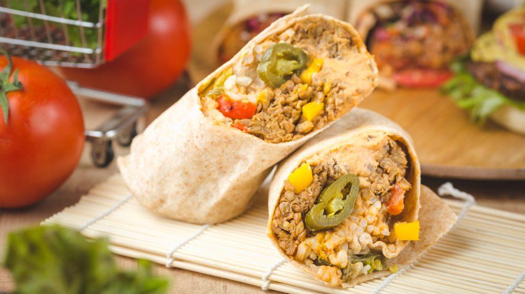 Vegan Mexican Burrito
